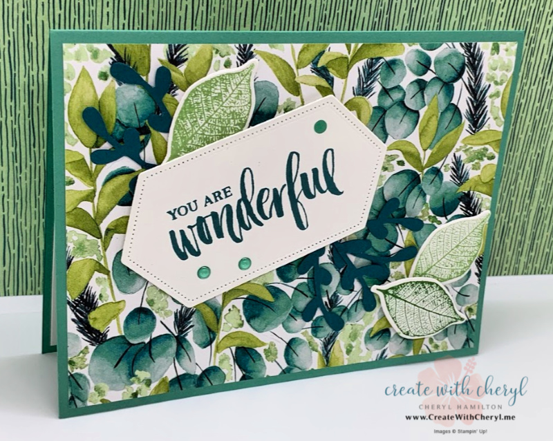 Forever Greenery Card