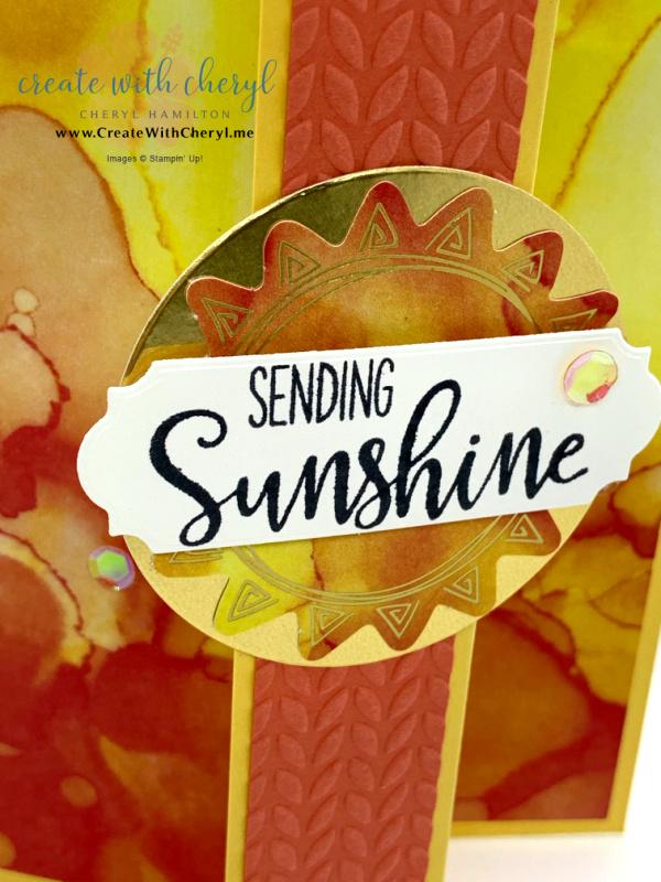 Paper Pumpkin Box of Sunshine Kit