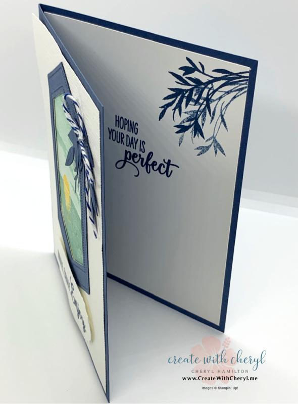 Ocean Sunset Handmade Card