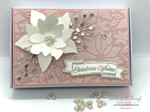 Plush Poinsettia Gift Box