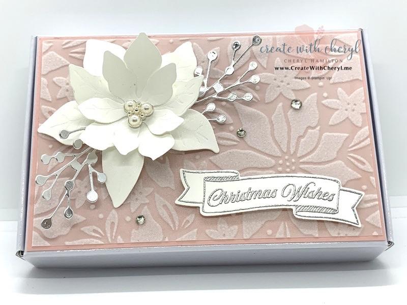 Plush Poinsettia Gift Box
