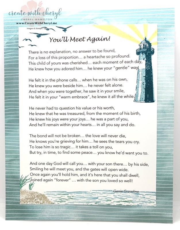 High Tide Background Poem