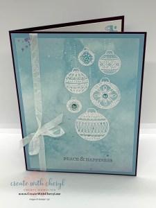 Ornamental Envelopes Card