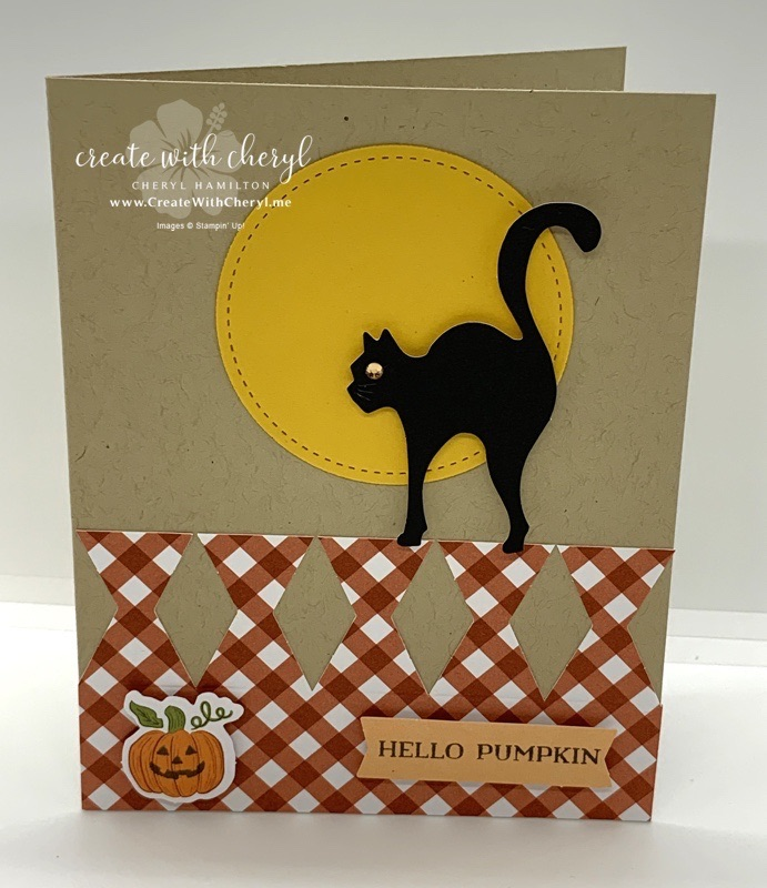 September Paper Pumpkin Card