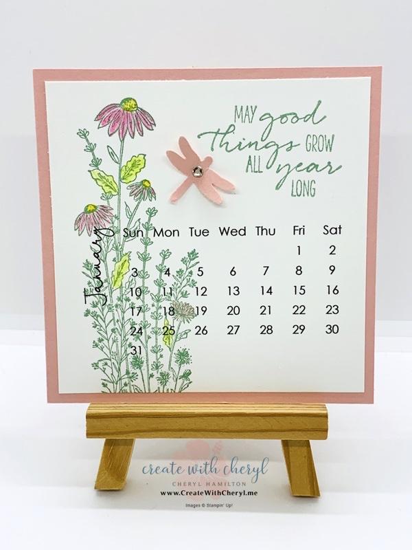 Dragonfly Garden Calendar