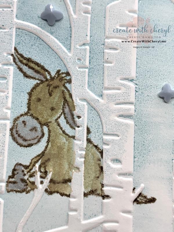 Darling Donkeys Sale-A-Bration Card