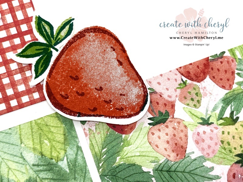 Strawberry Builder Punch Card