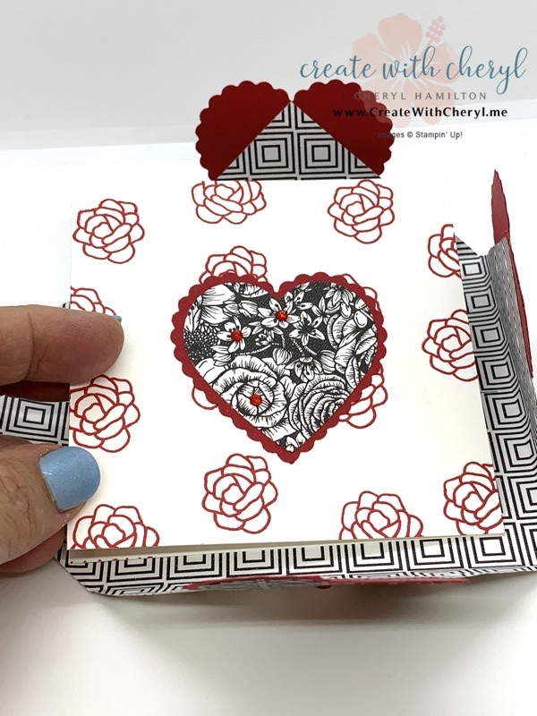 Heart Closure Fun Fold Valentine