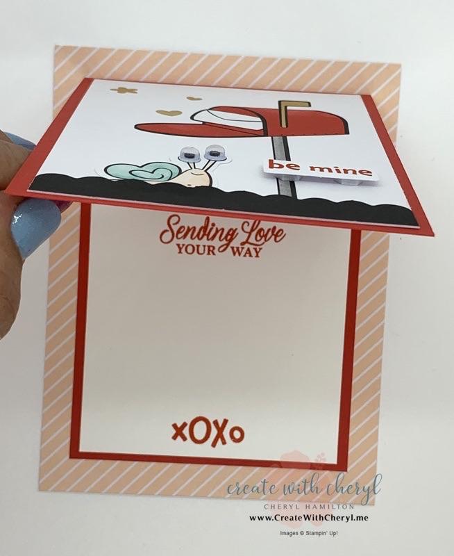 Sending Hearts Paper Pumpkin #paperpumpkin