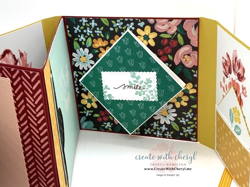 Flower & Field Mini Album #cherylhamilton