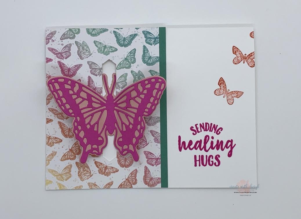 Butterfly Bouquet Pop-Through Card