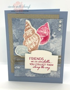 Friends are Like Seashells #cherylhamilton