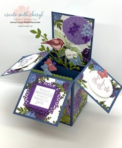 Hydrangea Haven Card in a Box #cherylhamilton