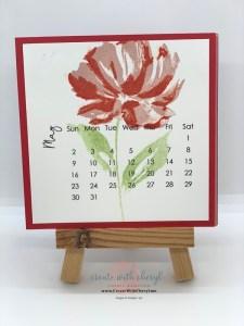 Art Gallery DIY Calendar May 2021