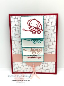 Baby Pull Toys Waterfall Card