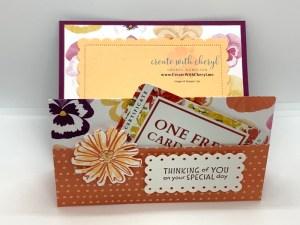 DSP Fun Fold Gift Card Holder