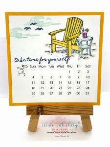 July 2021 Calendar Seaside View and My Meadow