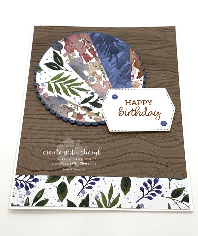 Beauty of the Earth Modified Starburst Card