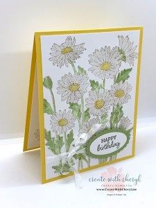 Daisy Garden Card