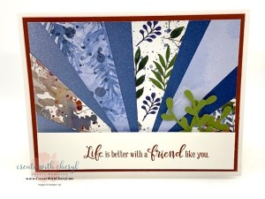 Beauty of the Earth Starburst Card