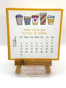 Press On October Calendar