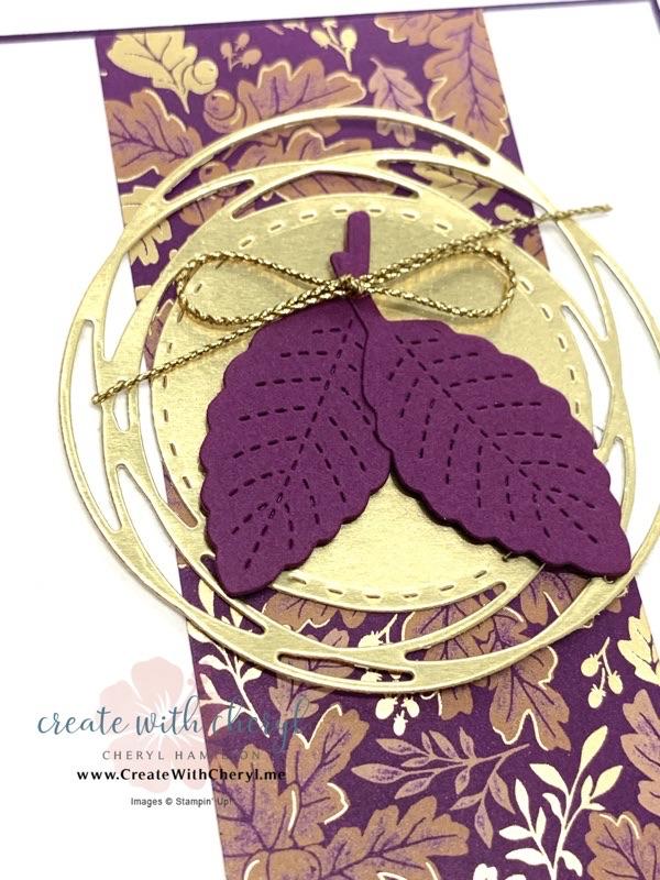 Love of Leaves Using Blackberry Beauty DSP Cheryl Hamilton