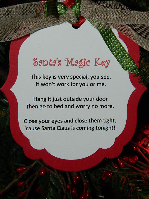 Santas Magic Key  Create with Dee