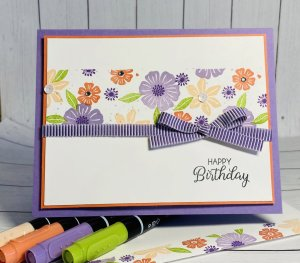 Simple Stampin' Sundays….Beautiful Bouquet!