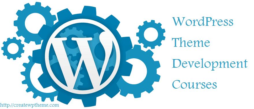 WordPress theme development courses