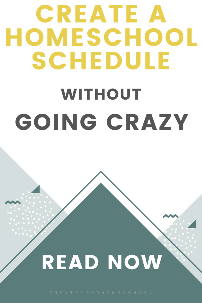A homeschool schedule for multiple kids that doesn't make you crazy - Yep! It's called a rhythm and this blog post shares the ins and outs of a great one!