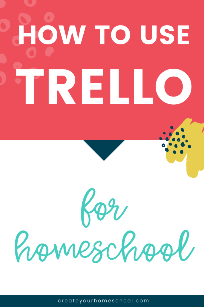 Trello for homeschool is becoming a hot topic - Here's how you can use it to manage and plan for your homeschool! PLUS - A free list of Trello board ideas!