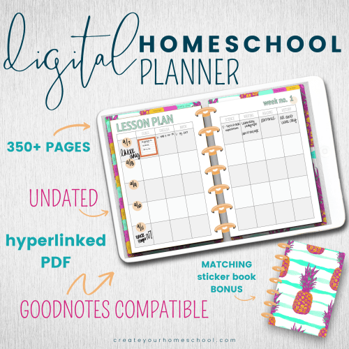 HOW TO GET STARTED WITH DIGITAL PLANNING FOR YOUR HOMESCHOOL | Digital Homeschool Planner GoodNotes