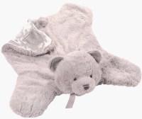 "Grayson Bear Animal Blanket by Baby Gund (22"" or 55 cm)"