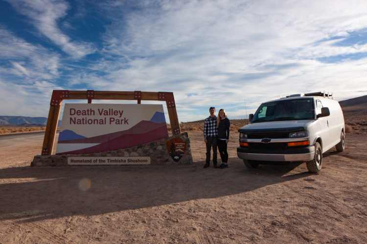 Vanlife in Death Valley National Park
