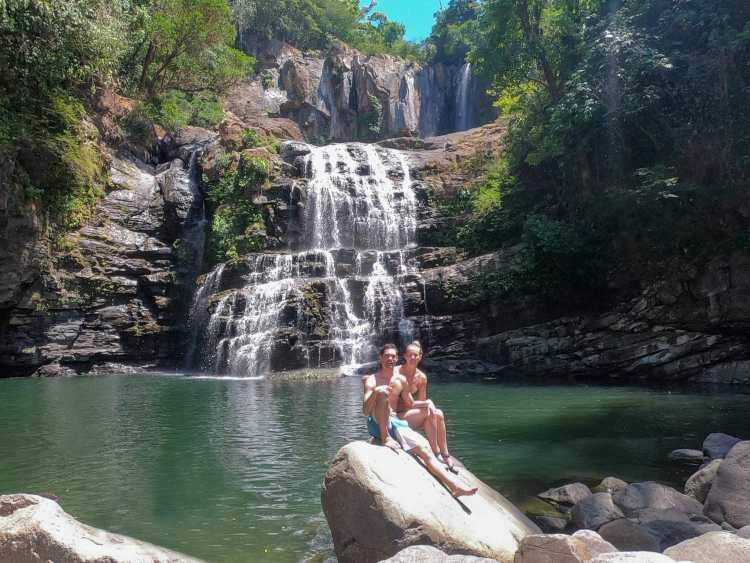 Nauyaca Falls Domincal Costa Rica