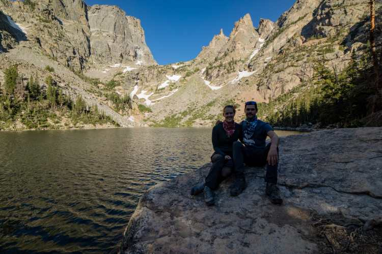 Emerald Lake at Rocky Mountain National Park