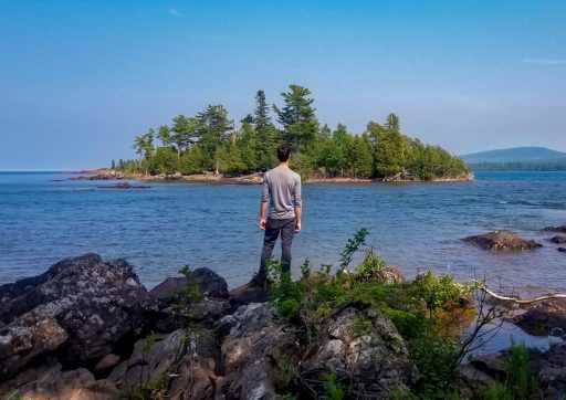 Hunter's Point Park in Copper Harbor