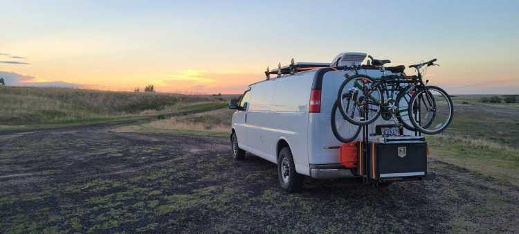 Chevy Express campervan