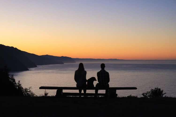Sunrise at Shelter Cove