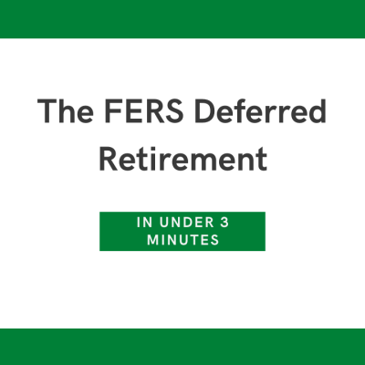 FERS Deferred Retirement