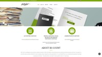 Web Design for Accountant Website | Creatica Studio
