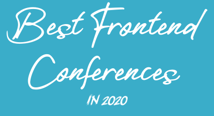 Best frontend conferences in 2020