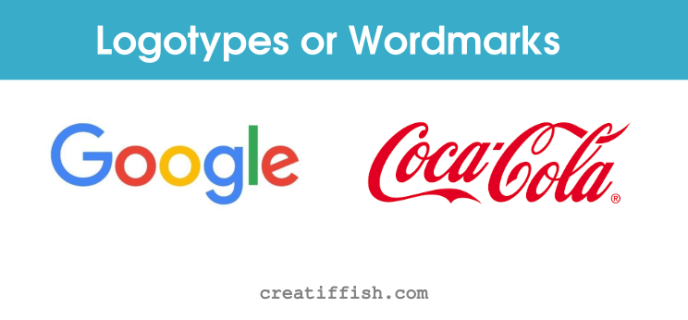 popular wordmarks or logotypes