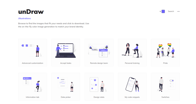 unDraw | free open-source illustrations
