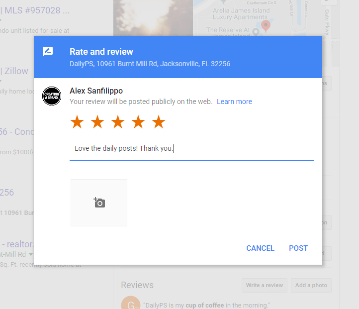 GOOGLE'S PLACE ID LOOKUP TOOL LEAVE A REVIEW ON GOOGLE