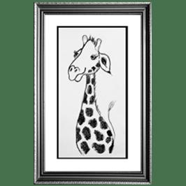Giraffe in Cartoon - live icon