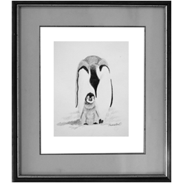 penguin family Live Icon