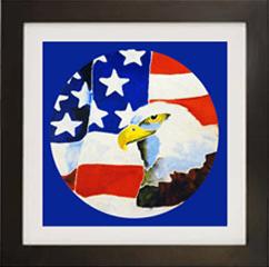 Freedoms Eagle Live Icon