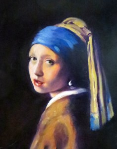 "Girl with Pearl Earring - Sharon Project Image - 11""x14"""