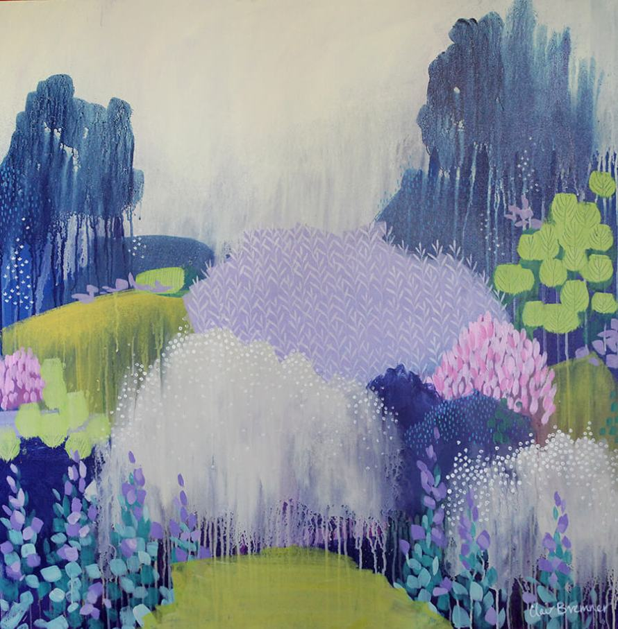 Learn how Artist Clair Bremner is Making Passive Income With Her Art: Misty Morning by Clair Bremner